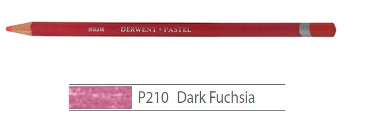 DERWENT PASTEL PENCILS DARK FUCHSIA 2300250