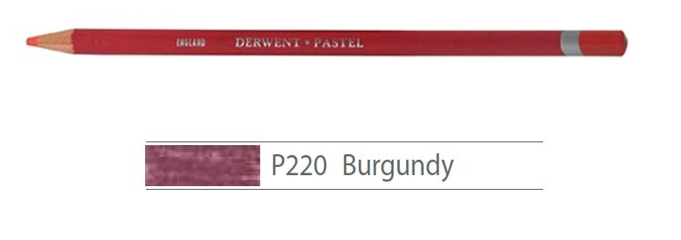 DERWENT PASTEL PENCILS BURGUNDY 2300251