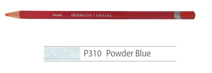 DERWENT PASTEL PENCILS POWDER BLUE 2300260