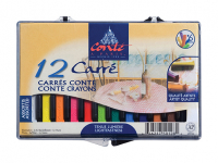 CONTE CARRES CRAYONS 12 ASSORTED 9750128 50244