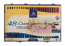 CONTE CARRES CRAYONS 48 ASSORTED 9750134