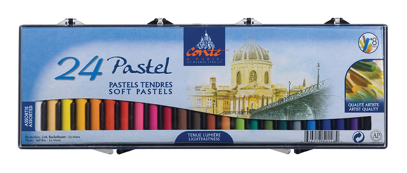 CONTE SOFT PASTELS 20 ASSORTED 50208