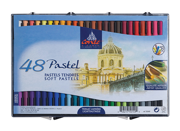 CONTE SOFT PASTELS 50 ASSORTED 50210