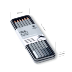 WN STUDIO COLLECTION GRAPHITE PENCILS TIN 6 490006