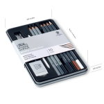 WN STUDIO COLLECTION SKETCHING SET 10 PC 490010