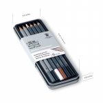 WN STUDIO COLLECTION SKETCH PENCILS TIN 6 490011