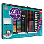 DR SIMPLY CREATIVE ENSEMBLE ART SET WITH EASEL   196500790