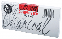 JAKAR BLACK COMPRESSED CHARCOAL SET