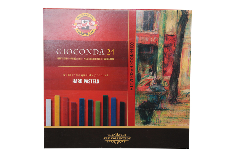 KOH-I-NOOR GIOCONDA 24 CARRES OIL/CHALK PASTELS SET OF 24