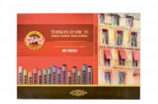 KOH-I-NOOR TOISON D'OR 36 SOFT PASTELS - SET OF 36