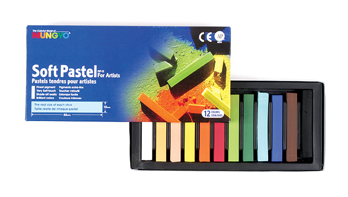 MUNGYO SOFT PASTELS - SET OF 12