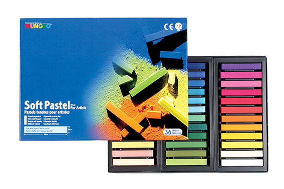 MUNGYO SOFT PASTELS - SET OF 36