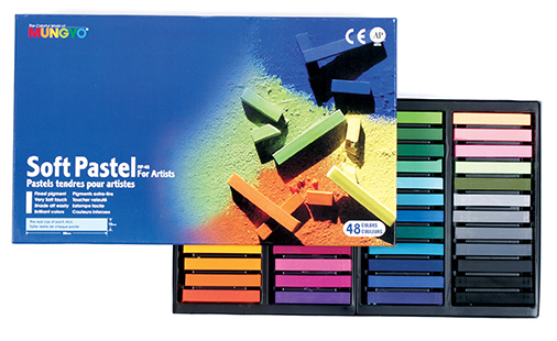 MUNGYO SOFT PASTELS - SET OF 48