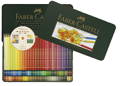 FABER CASTELL POLYCHROMOS 120 TIN ARTISTS PENCILS FC110011