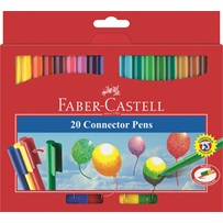FABER CASTELL 20 CONNECTOR PENS 155520