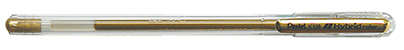 PENTEL HYBRID GEL GRIP PEN - GOLD K118-X