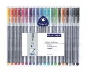 STAEDTLER BRILLIANT COLOURS TRIPLUS SET OF 20