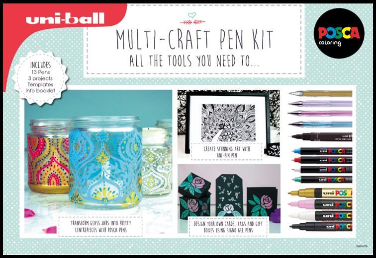 UNIBALL MULTI-CRAFT PEN KIT 153544920