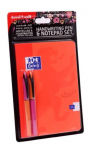 UNI AIR HANDWRITING PEN & NOTE PAD SET A5 ORANGE 153544761