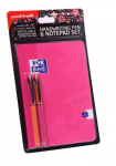 UNI AIR HANDWRITING PEN & NOTEPAD SET PINK A5 153544762