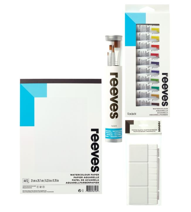 REEVES WATERCOLOUR STARTER SET 4910225 780804864403