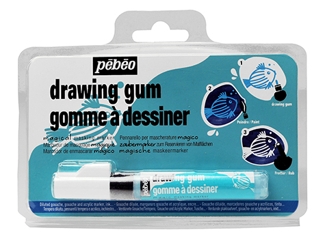 PEBEO DRAWING GUM PEN 4mm BLISTER OF 1 PEN 603728