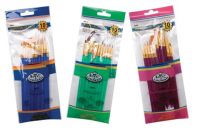 Royal Brush Synthetic 10 Brush Sets